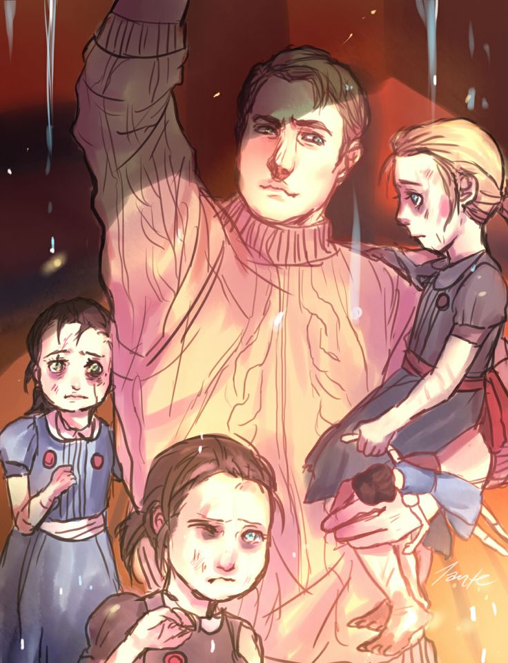 """""""And in the end, what was your reward? You never said it, but I think I know: a family.."""""""