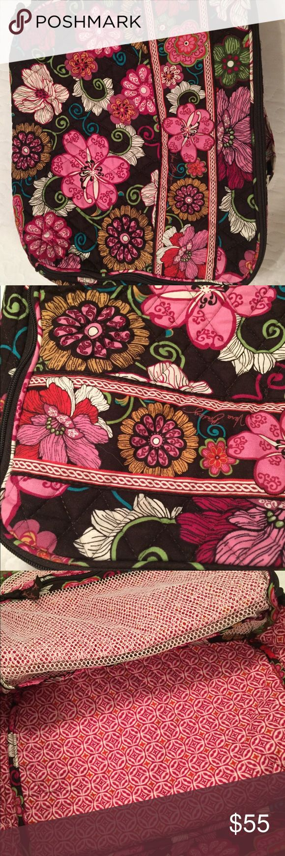 Vera Bradley Tote Bag Lightly used tote/small suitcase bag. Great for laptops or day trips! Bags