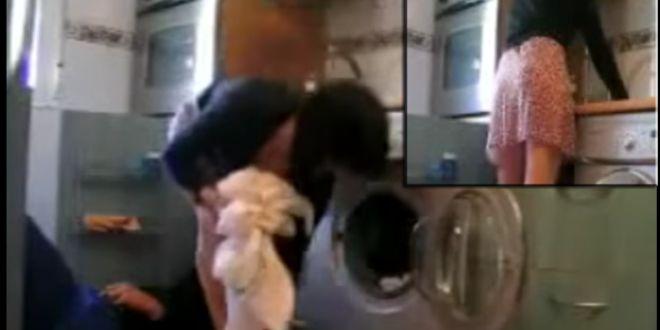 Esposo captura a su mujer siéndole infiel con el plomero todo por una cámara oculta