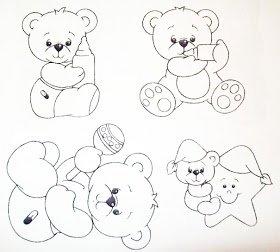 Pintura Em Tecido - Venha Aprender Pintura em Tecido: Risco para Pinturas Desenhos Infantis