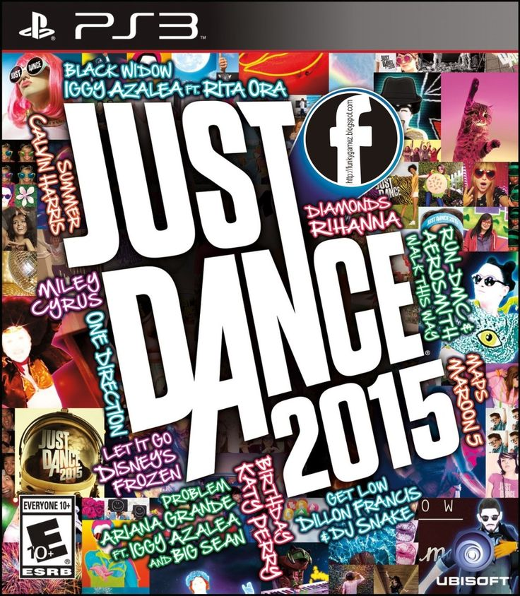 Just Dance 2015 PS3 ISO | CFW 3.55 | Free Download