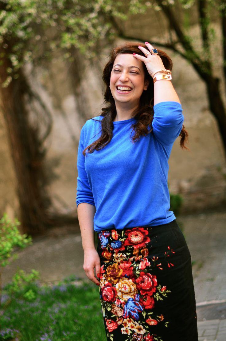 Irina Markovits, fashion stylist and Blogger #ivatherm #styleconversations #stylediary #herculanethermalwater #streetstyle