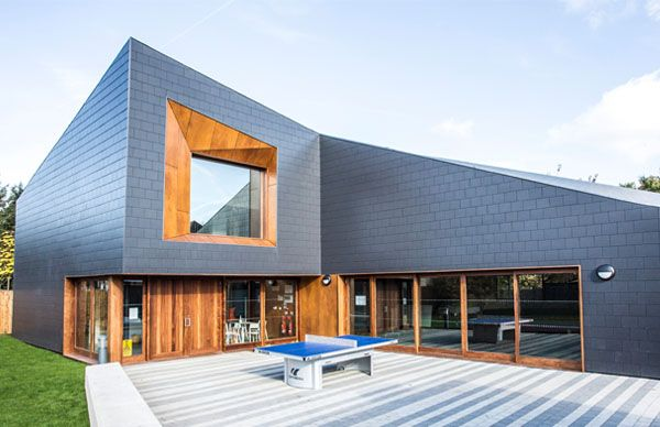Thrutone Fibre Cement Roof Slate With Smooth Surface And