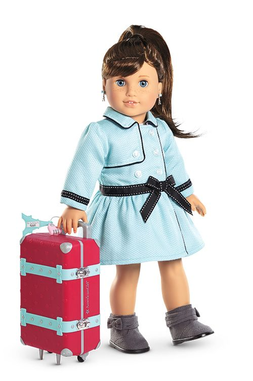 Grace's Travel Coat & Set for Dolls