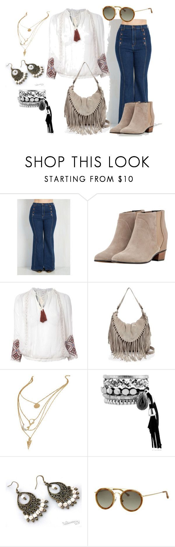 boho 04 by jenifer-mendes on Polyvore featuring Lipsy, Augusta, Sorial and Dries Van Noten