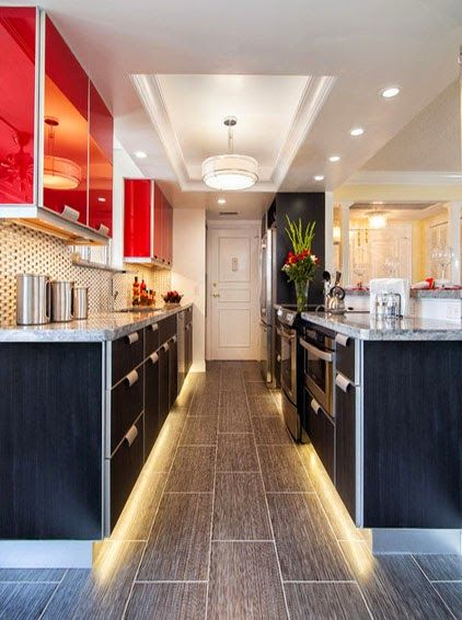 Kitchen Lighting Ideas Galley Kitchen