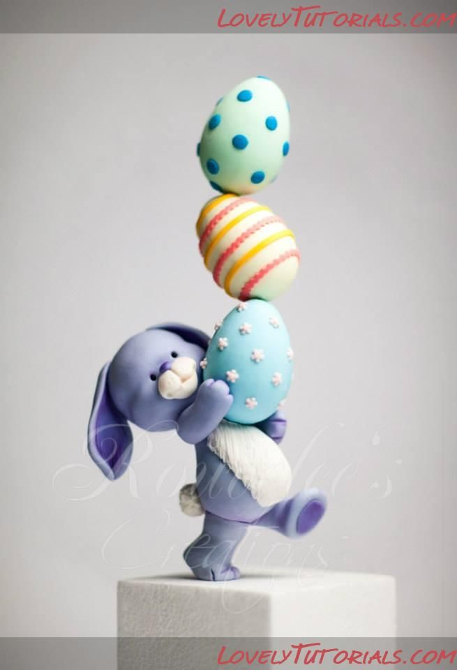 HOW TO - Balancing Bunny Cake Topper                              …                                                                                                                                                                                 More