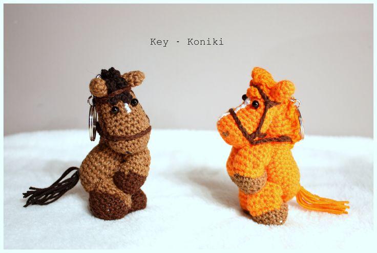 Amigurumi / Moje szydełkowelove Amigurumi horses #amigurumi #amigurumis #horse  #ponny #koń #konik #brelok #szydełkowy #rękodzieło #crochet