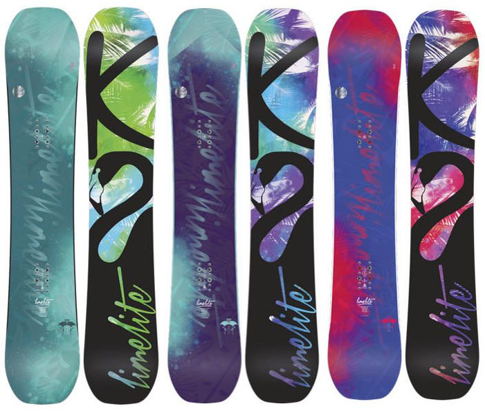 K2 Lime Lite Womens Snowboard 2014 The K2 Lime Lite is a park board designed for the ladies and a consistent performer year in year out. The Lime Lite uses K2's freestyle baseline technology which is zero between the feet to just past the inserts for grip and predictability then reverse camber in the nose and tail to give a forgiving catch free ride #snowboard #snowboarding #k2limelitewomenssnowboard2014 #jib&park