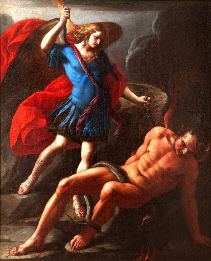 Onofrio Palumbo, Saint Michael Vanquishing the Devil, 17th century: