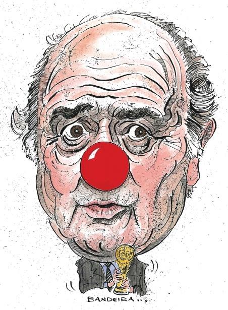 Sepp Blatter by Graeme Bandeira