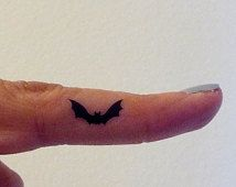 halloween bat tattoo - Google Search