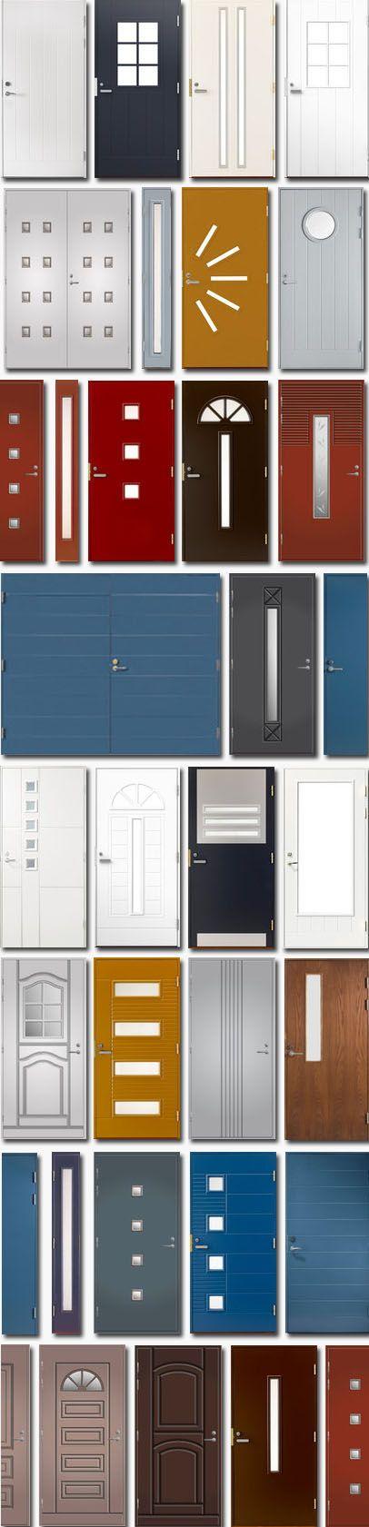 Runsaaseen Taloon.comin ovivalikoimaan kannattaa tutustua! Ulko-ovissa juuri mikään ei rajoita oven ulkonäön valintoja, sillä useita ovimalleja voi tilata mittatilausmitoin, jopa kaikissa värikartan väreissä. Myös kodin sisätiloihin löydät meiltä etsimäsi; lasiovet, väliovet, Elfa-liukuovet, kostean tilan ovet ja ovitarvikkeet.