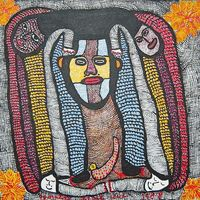 NaderHaitianArt.com | Haitian Art | Original paintings by late Haitian artist from Saint Soleil Prospere Pierre Louis For Sale. Order Online!