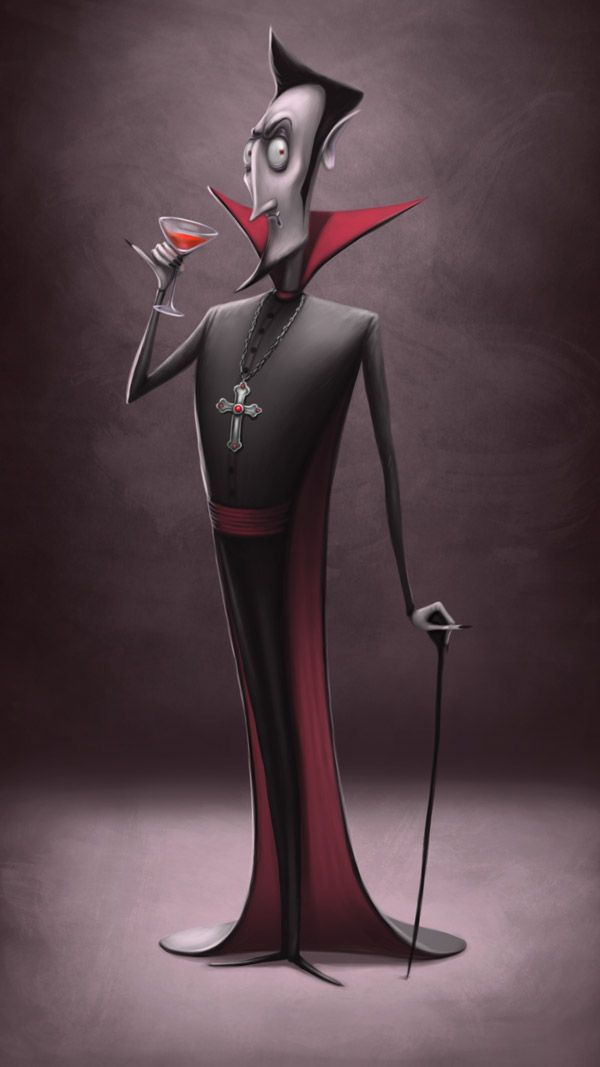 Halloween characters on Behance