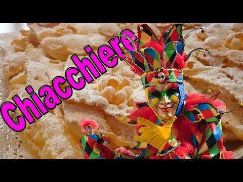 Frappe o Chiacchiere Ricetta - Come Fare Dolci di Carnevale 2016 - YouTube