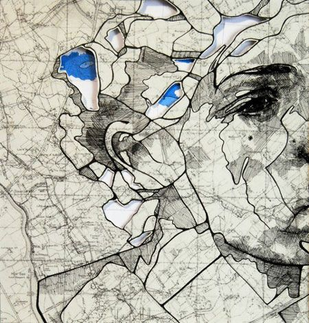 New maps illustrations by Ed Fairburn - Design daily news