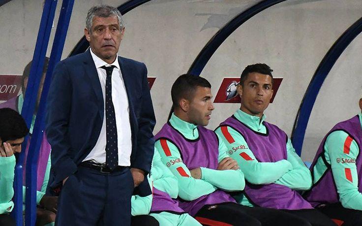 Fernandos Santos Ungkap Alasan Dibalik Ronaldo Yang Duduk Di Bangku Cadangan