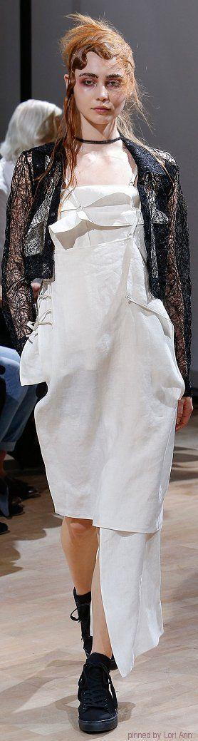 Yohji Yamamoto Spring 2015 RTW