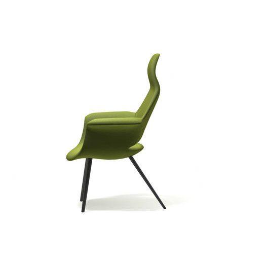 Vitra Organic Highback Arm Chair by Charles Eames and Eero Saarinen
