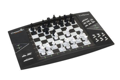 Lexibook – CG1300 – Jeu de Plateau- Chessman Elite Jeu d'échec électronique: Jeu d'échec électronique Des couleurs et un design intemporels…
