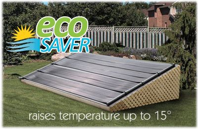 Eco Saver solar pool heater for above ground pools- Solar Heating Panels
