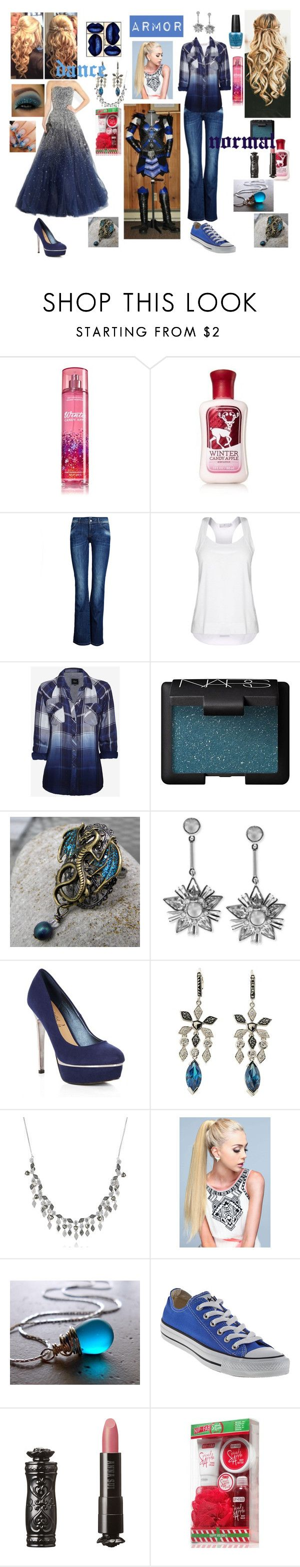 """""""jenny frost Daughter of jack frost"""" by frostedrose ❤ liked on Polyvore featuring ONLY, STELLA McCARTNEY, Rails, NARS Cosmetics, Givenchy, Marchesa, Judith Jack, Converse, Anna Sui and Nip+Fab"""