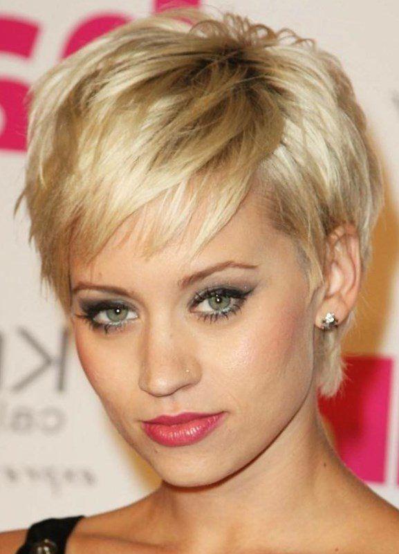 Frisuren kurze dunkle haare