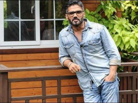 Suniel Shetty and his son Ahan Shetty || All In One - Indian News