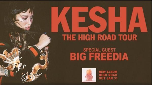 Kesha The High Sweepstakes Is Giving To Chance To Win Tickets To