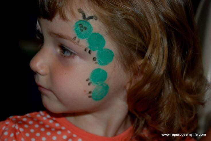 easy face painting ideas | Carnival | Pinterest