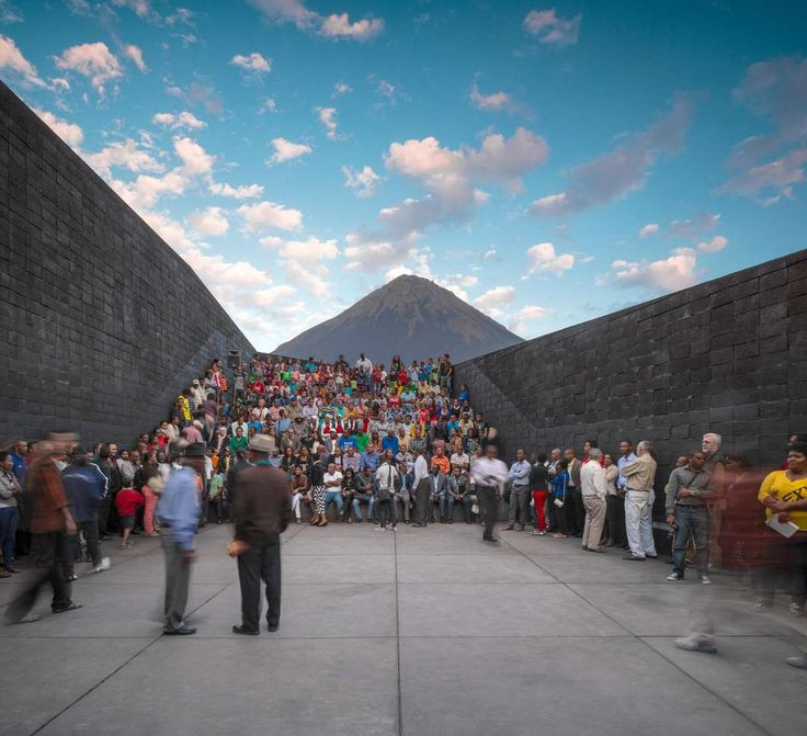 On Fogo Island, at 1800 meters of altitude, in the crater of the volcano, there is a village with about 1200 people living on the fringes of legality, occupy...