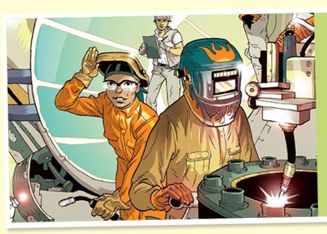 Careers in Welding via American Welding Society and Weld-Ed Center