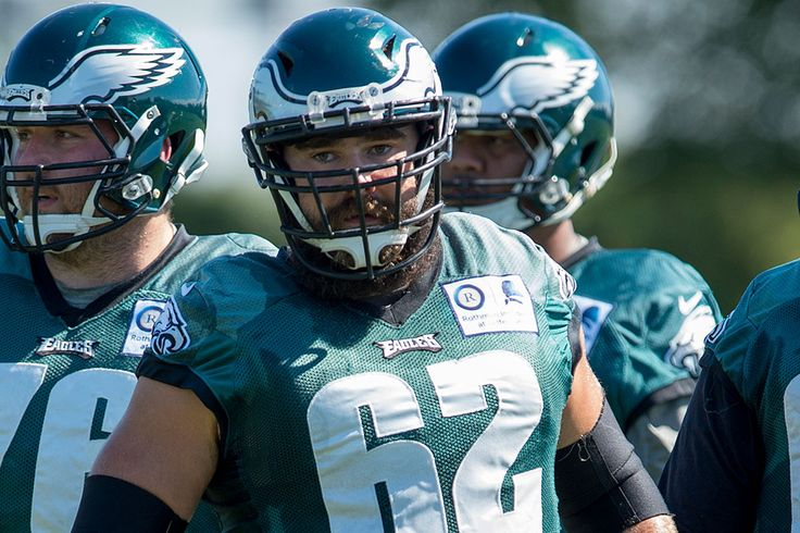 Jason Kelce fighting off another slow start