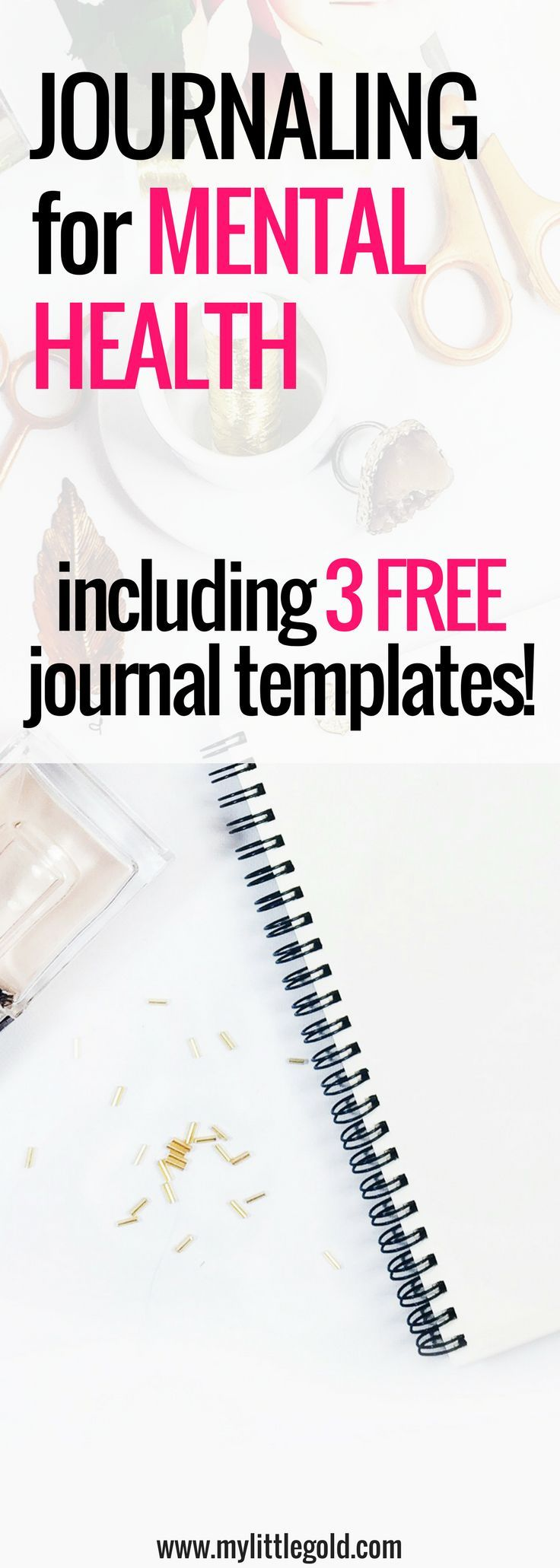 Keeping up with journaling is hard sometimes.  I enjoy doing it for my   own mental health and sanity - I find it so therapeutic!  Positive   journal prompts and beautiful templates have helped peak my interest for   this.  I've even tried to bullet journal!