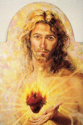 The Sacred Heart of Jesus, by artist Joseph Fanelli