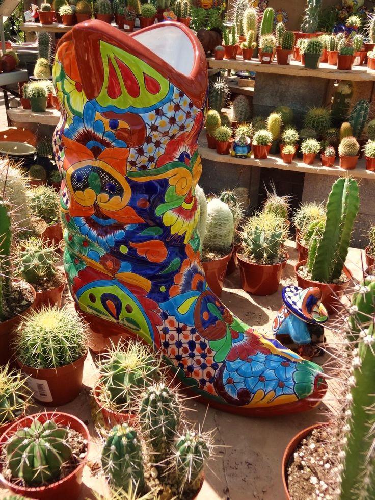 Beautiful Desert Gardens Nursery   Talavera Pottery | Unique Planters | Pinterest |  Talavera Pottery, Garden Nursery And Nurseries