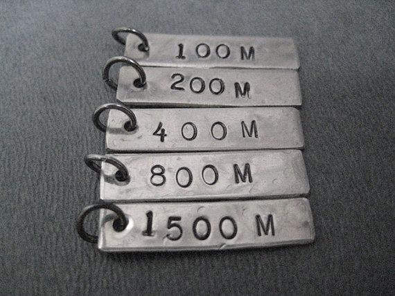 ONE 1 Track DISTANCE or EVENT Pendant Only  100 by TheRunHome, $4.00. Awesome!