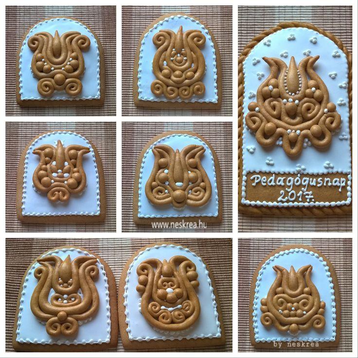 Gingerbread art... Mézeskalácsok Pedagógus napra. Szeretem a tészta alakíthatóságát, számos lehetőséget rejt magában. Az eredmény... nekem tetszik :-)!