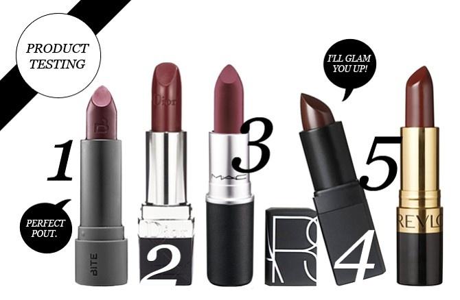 Best wine colored lipsticks!