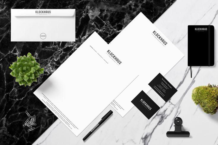 We Created The Brand Identity For Klockhaus Dekoration Ohg From Dusseldorf Branddesign Brandidentity Bra Corporate Design Kommunikationsdesign Web Design