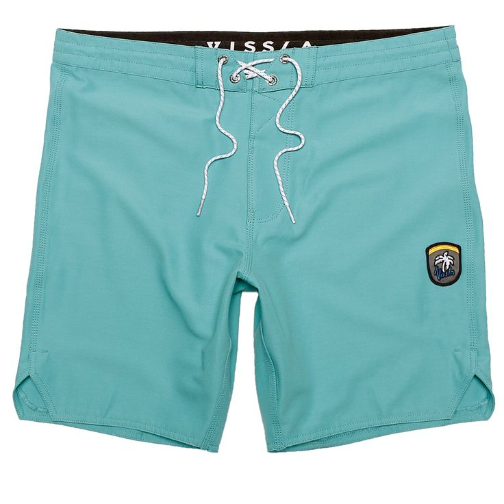 The Solid Sets are hip washed 4-Way stretch boardshorts made with coconut fibers.