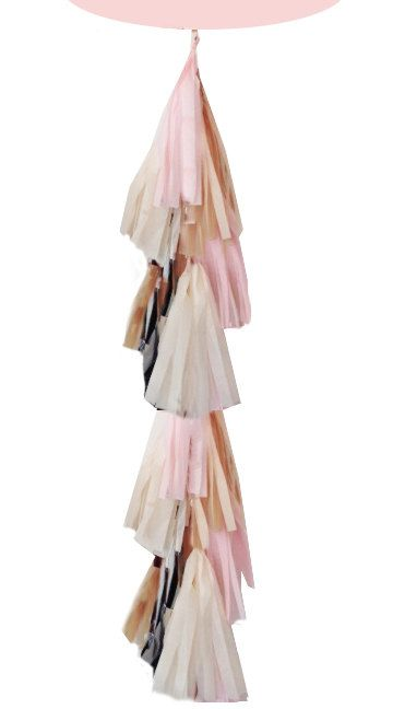 A gorgeous giant balloon tassel ready to be attached to your balloon for your party! Pick the color tissue youd like up to 3 colors and I will make