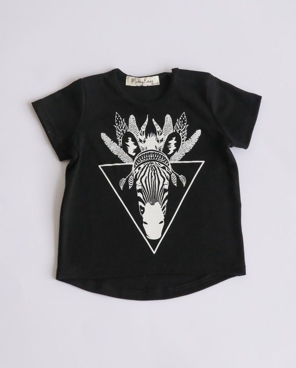 Zebra T-shirt. $44.95. Organic Cotton, Unisex, Ethical & 100% made in Melbourne with love.