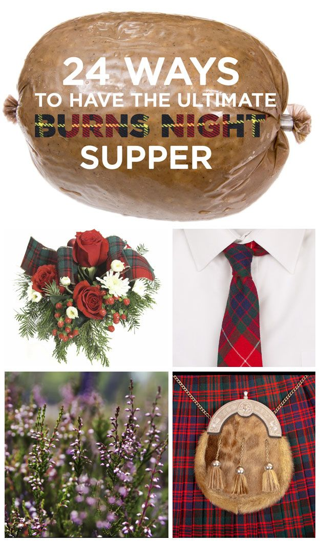 24 Ways To Have The Ultimate Burns Night Supper