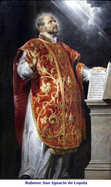 San Ignacio de Loyola  #Jesuitas #CompañíaDeJesús #31deJulio