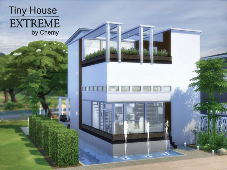 80 best images about sims 3 house ideas on pinterest for Small house design sims 4