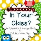 """This is a great activity to help get your kids talking and meeting new friends the first week of school. Included you will receive the 2-page """"sca..."""