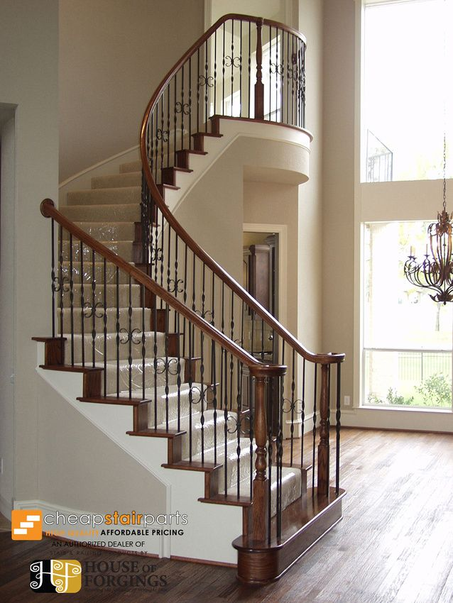 cheap stair parts staircase remodel ideas staircase remodel ideas pinterest stairs. Black Bedroom Furniture Sets. Home Design Ideas