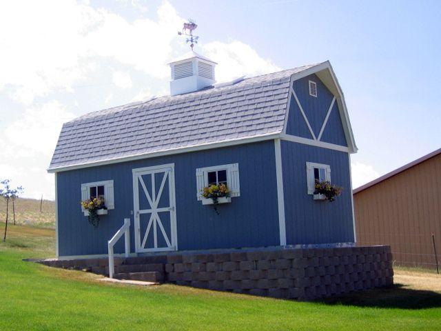 Premier PRO Tall Barn (12x24) By TUFF SHED Storage Buildings U0026 Garages, Via